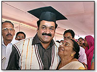 mohanlal-doctorate