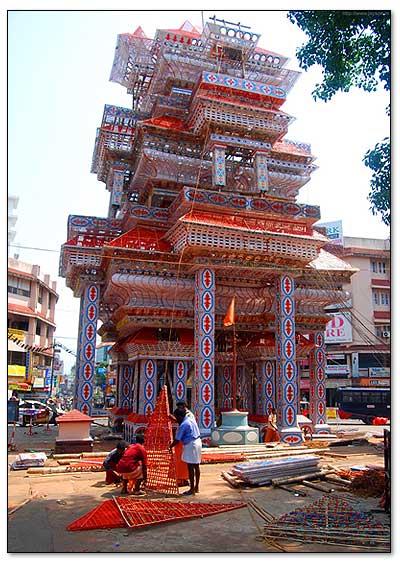 trissur-pooram-pandhal