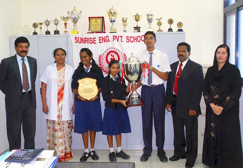 sunrise-english-private-school-quiz-winners