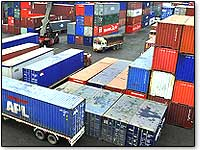 container-freight-station