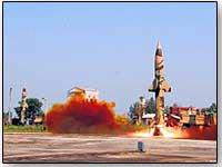 prithvi-missile