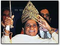 mayawati-crowned