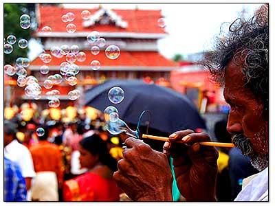 bubbles-amidst-festival